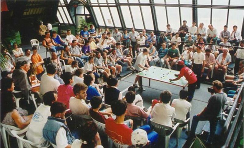 Szendrey - Pákai dönto az 1996-os Világbajnokságon.